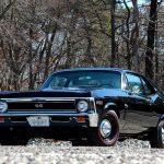 1969 Chevrolet Nova SS 396 Black