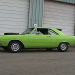 Green 1969 dodge dart 440
