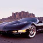 Black 2001 Corvette Coupe