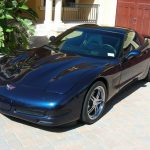 Navy Blu Corvette Coupe 2011