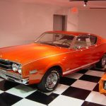 Orange Mercury Cyclone CJ